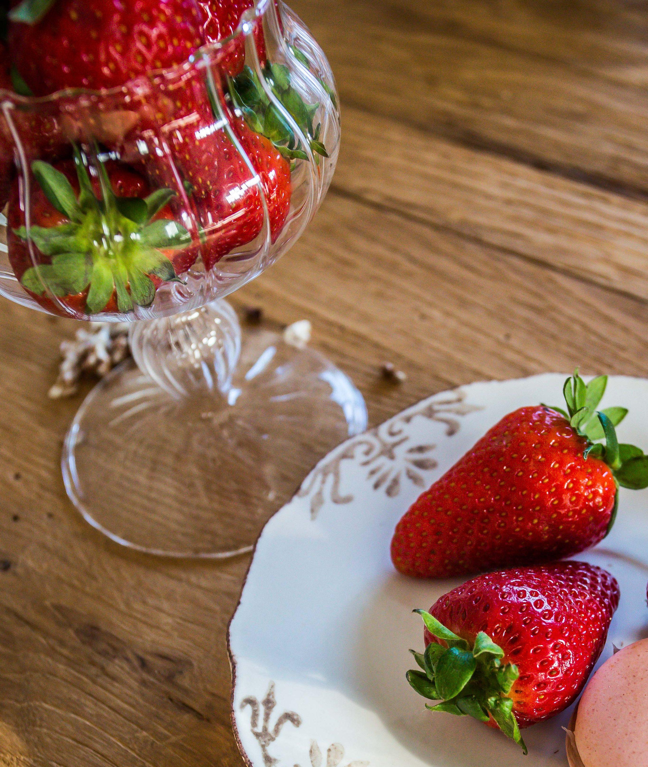 Macarons alle fragole&cioccolato bianco