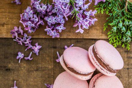 Macaron lamponi&cioccolato fondente