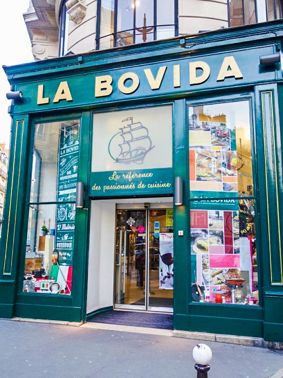 Parigi, La Bovida, RueMontmartre 36