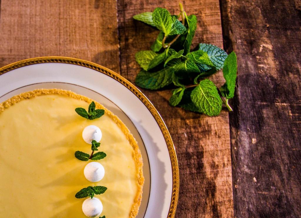 Tarte au citron verte et basilic di Jacques Génin