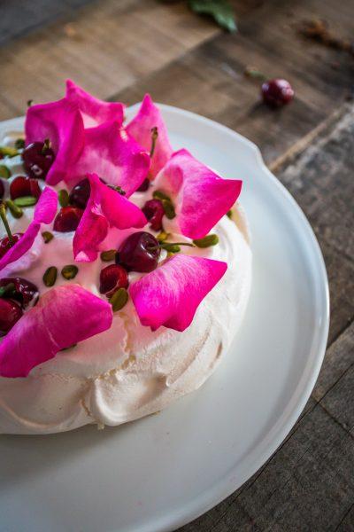 ricetta meringa pavlova alla crema di cocco