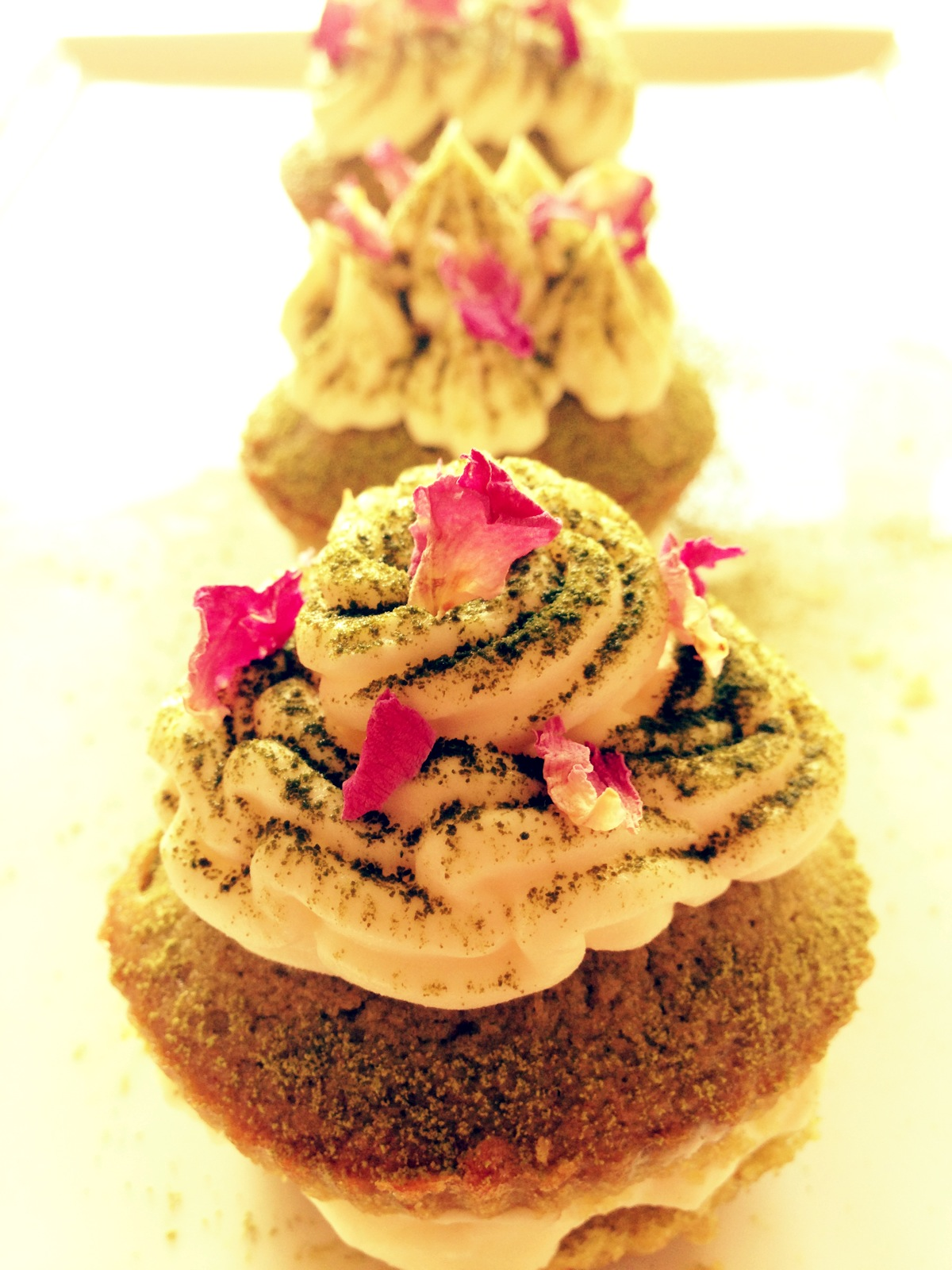 cupcakes thè matcha