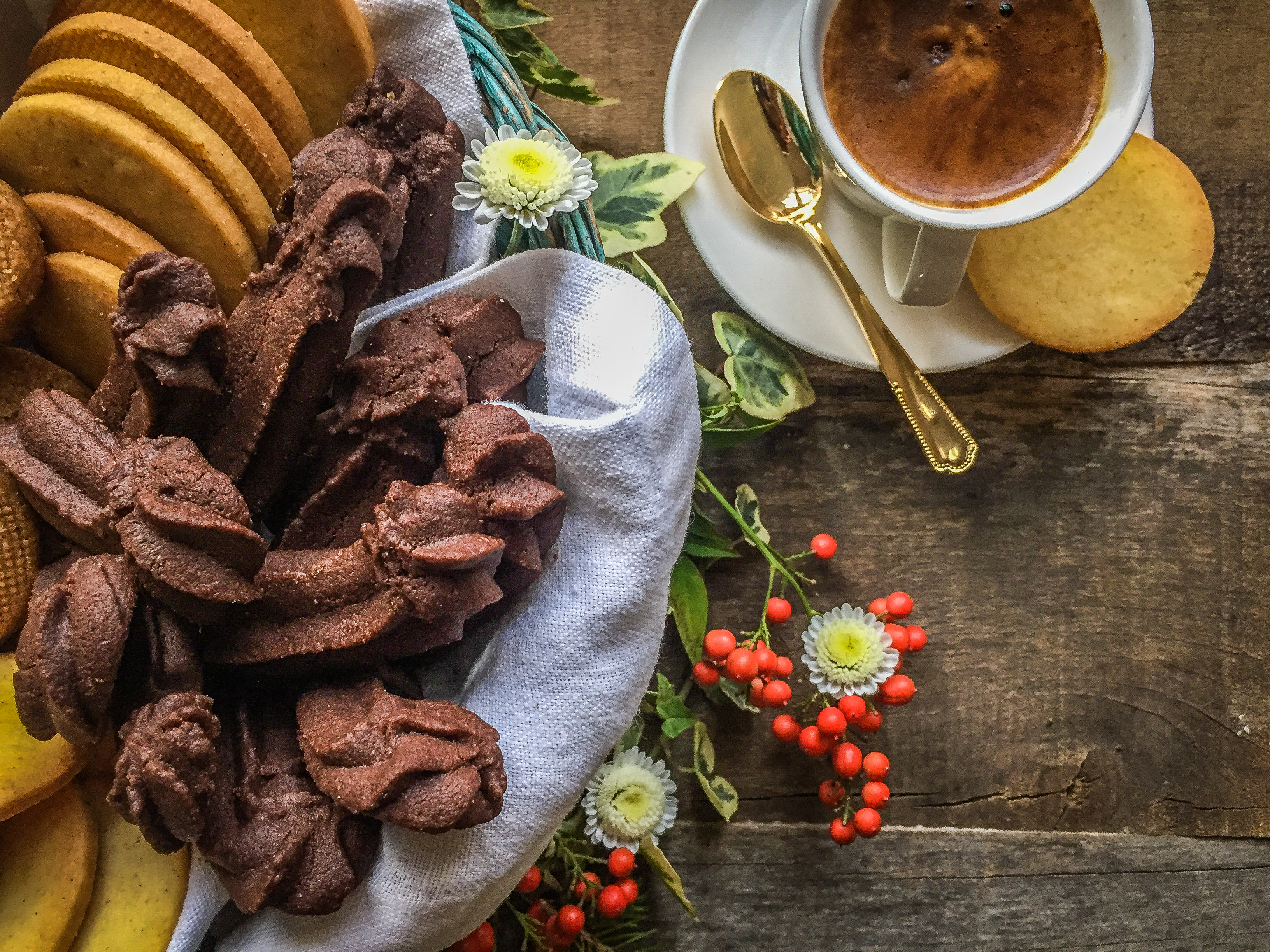 Dream cookies: best Orange and cacao Frollini