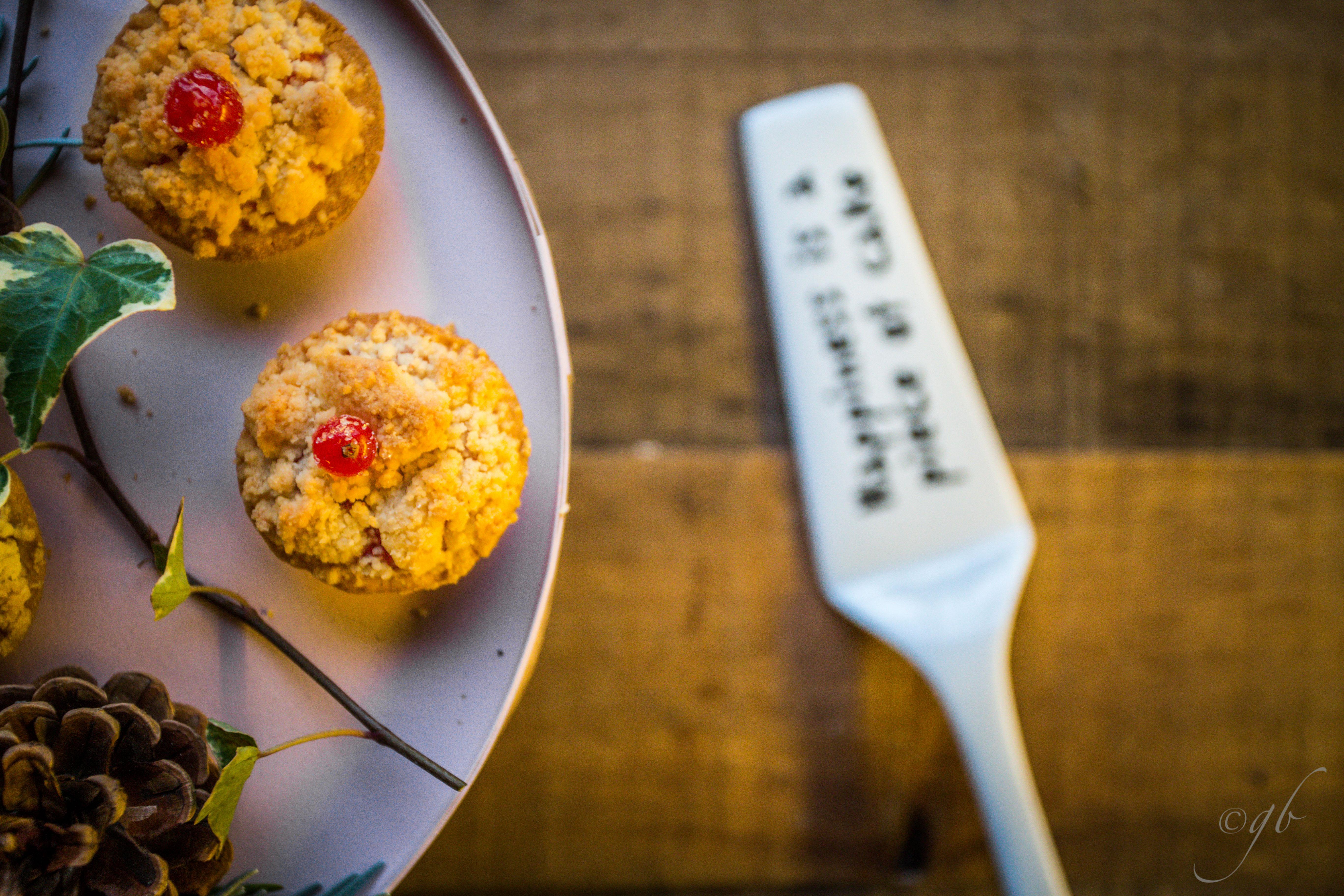 Redcurrants mini-pies