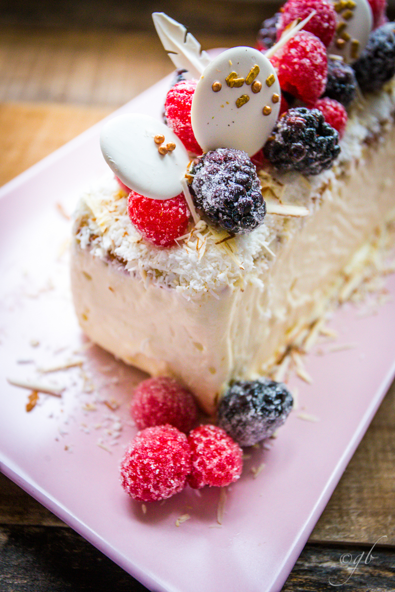 Coconut cake: the perfect semifreddo