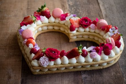 La ricetta della CREAM TART, la torta trend 2018, alphabet cake/letter cake