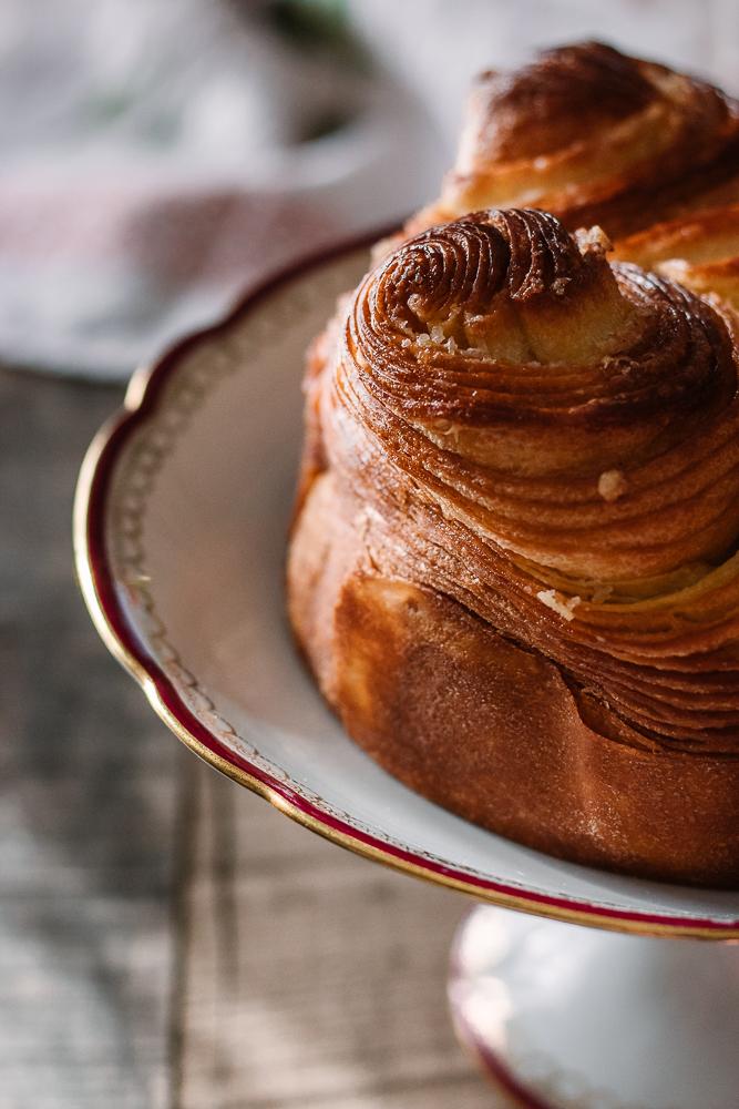 ricetta della Brioche francese sfogliata al burro