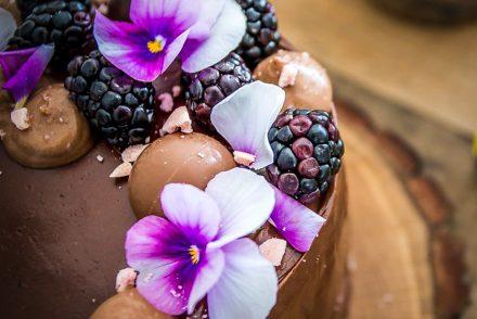 Swiss roll cake verticale una torta originale