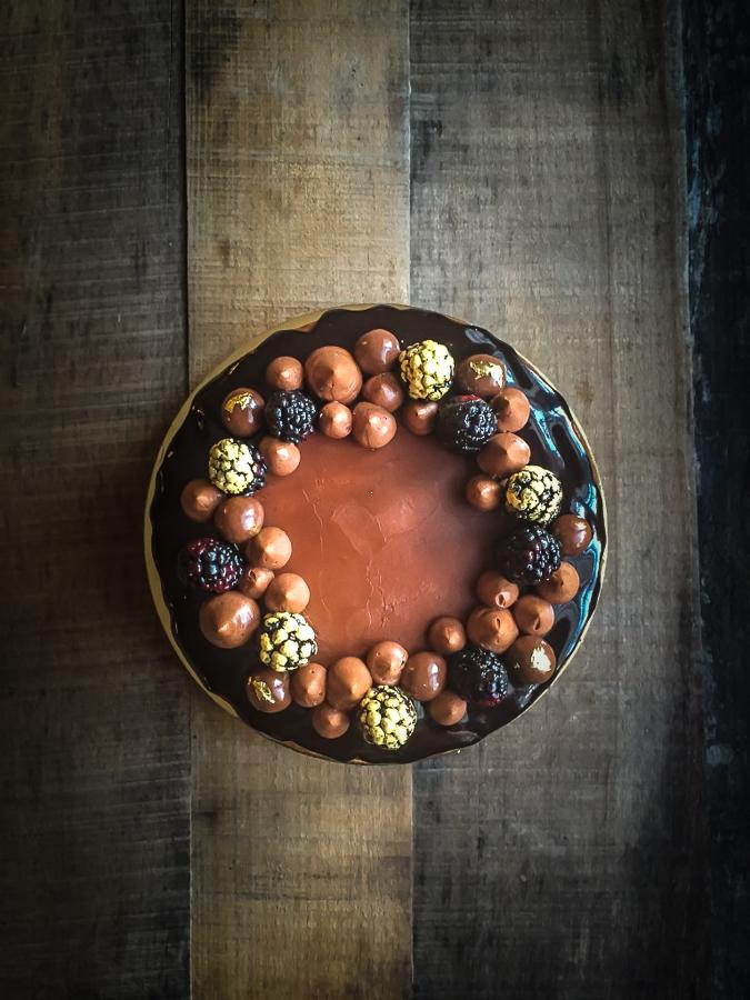 Una torta originale: il rotolo dolce verticale