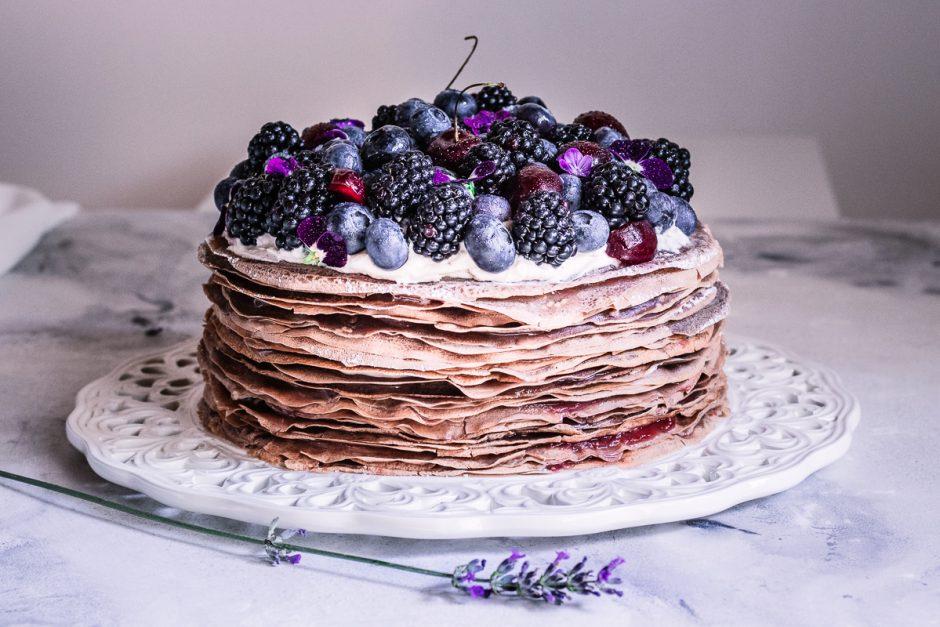 la torta dicrêpes