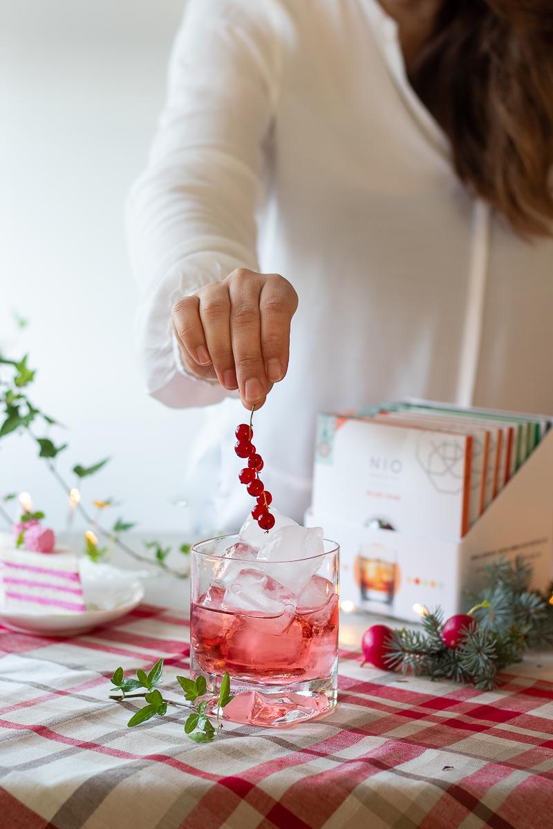 antipasto di Natale veloce, il Tramezzino Cosmopolitan