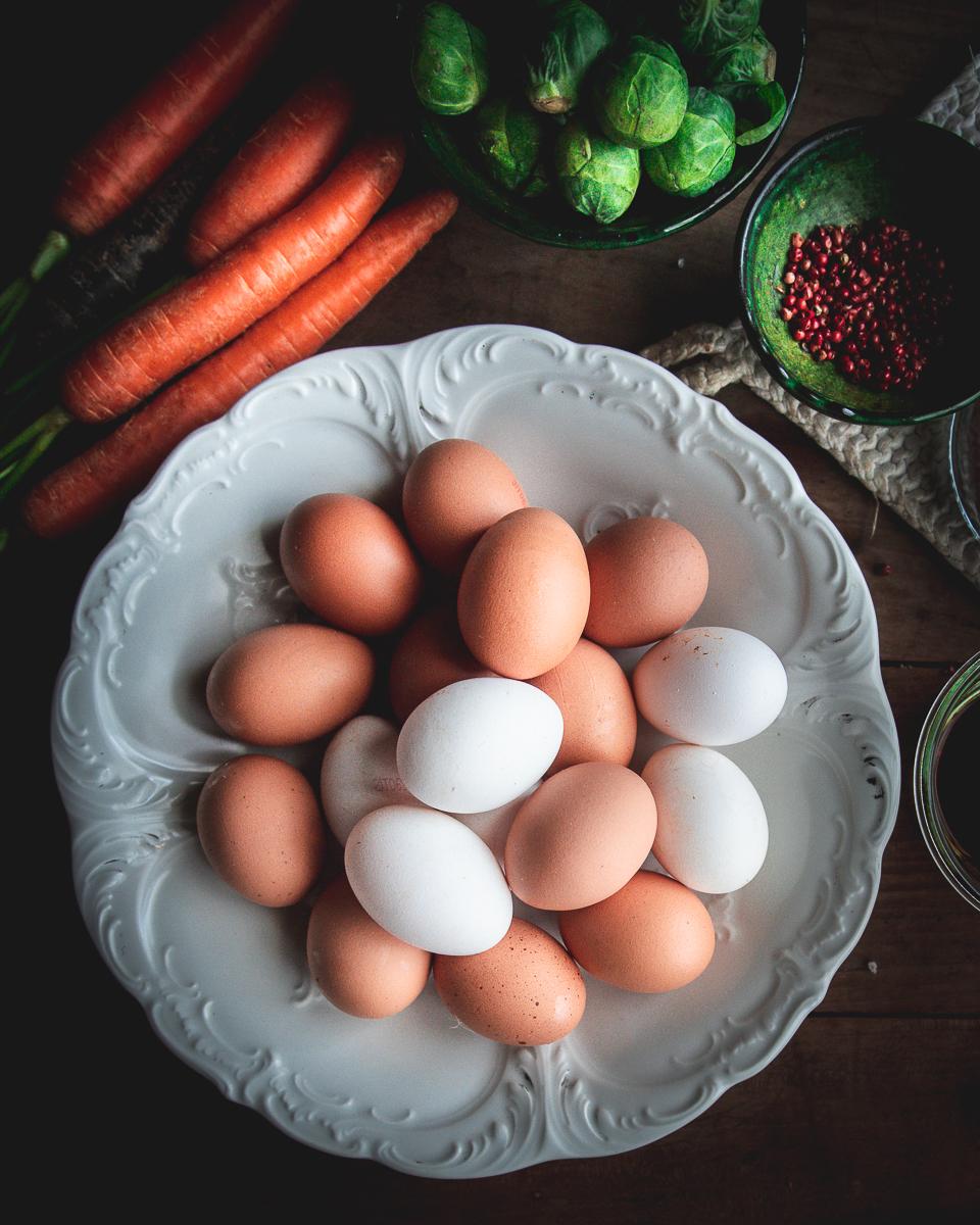 Uova e carote