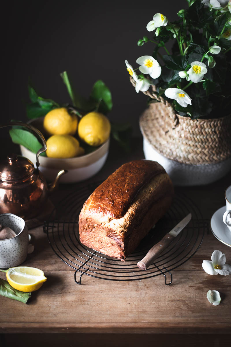 Brioche Mousseline di Conticini, soffice con burro e uova