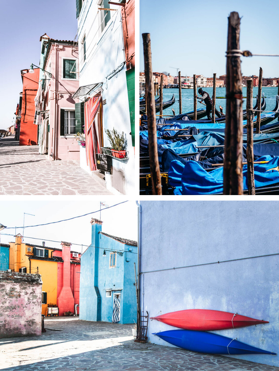 Venezia e Burano shooting