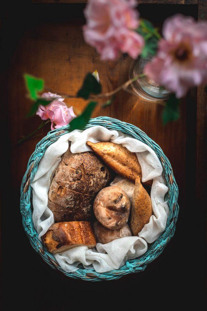 Cestino di pane di Alessandro Rossi