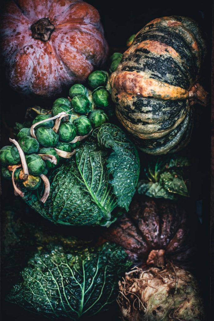 Vegetables FOOD STYLING