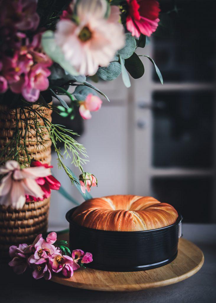 Come fare la brioche gomitolo di lana o wool roll bread