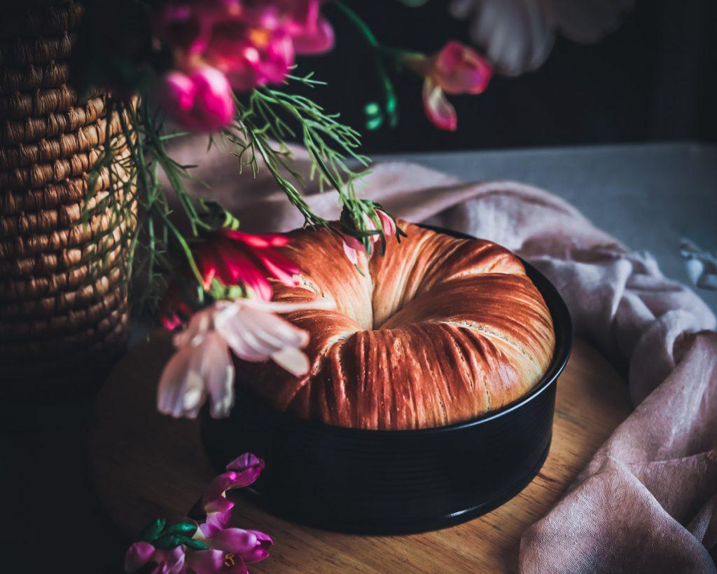 La ricetta per realizzare la brioche gomitolo di lana o woolroll bread