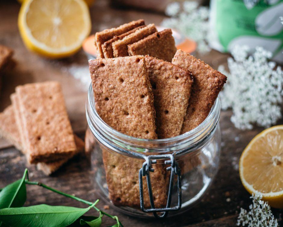 Graham crackers fatti in casa